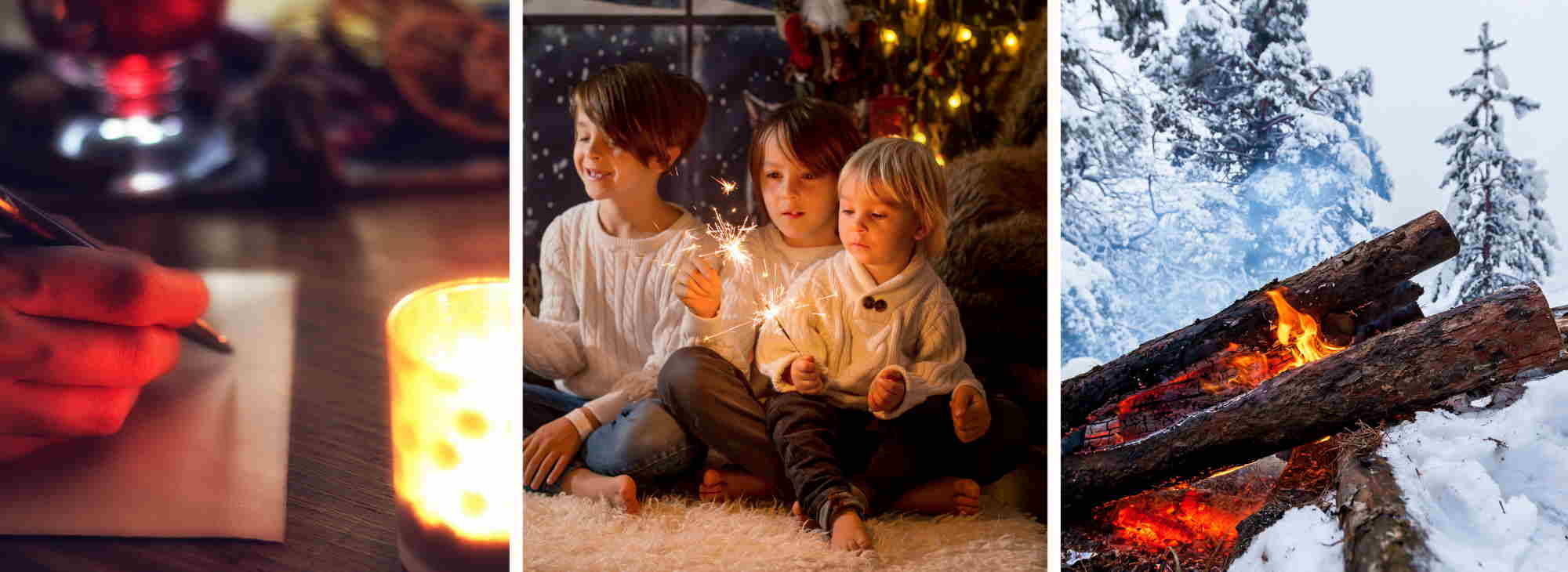 Silvester mit Kindern Traditionen