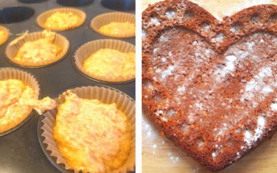 Erdnuss-Kuchen